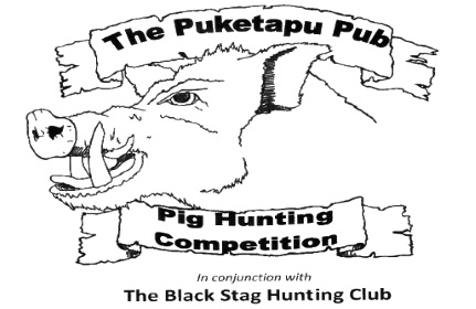 The Puketapu Pub Hunting Competition