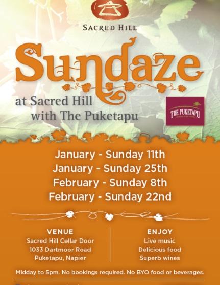 Sundaze at Sacred Hill Winery