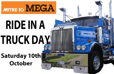 Mitre 10 MEGA Ride in a Truck
